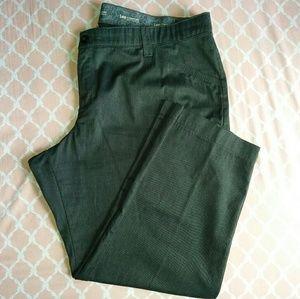 Lee Comfort Dark Gray Pants Plus Size 24W Petite